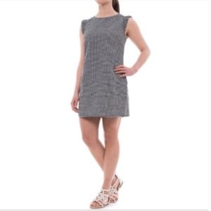 Cynthia Rowley Gingham Black White Mini Dress 6